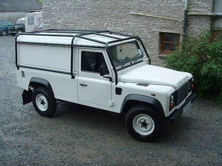 Land Rover 110 3 Door Hard Top Full External Roll Cage