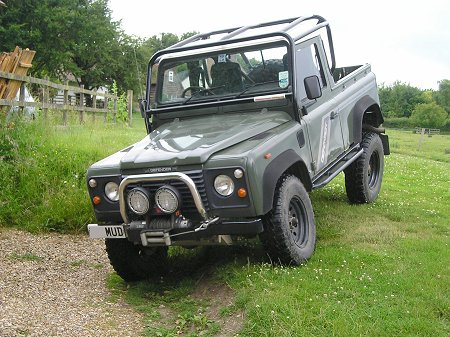 Land Rover 90 Truck Cab Roll Cage